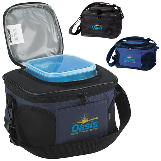 Picture of Koozie® 2-in-1 Kooler with Cool Gear™ Container
