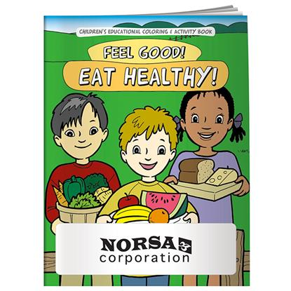 Picture of Coloring Book: Feel Good! Eat Healthy!