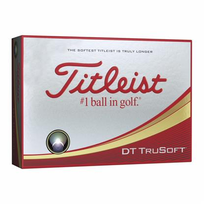 Picture of Titleist® DT TruSoft™ White Std Serv