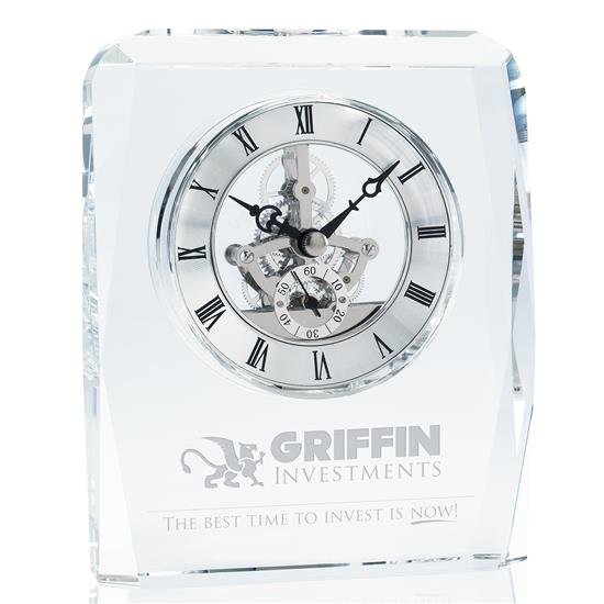 Picture of Crystal Skeleton Clock