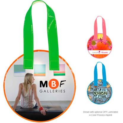 Picture of Laminated Non-Woven Mini Round Tote