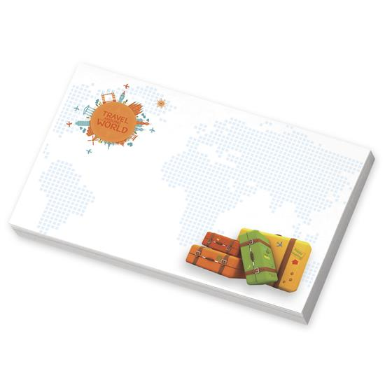 """Picture of BIC® 5"""" x 3"""" Adhesive Notepad, 25 Sheet Pad"""