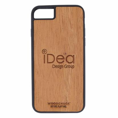 Picture of Mahogany Wood Phone Case 7/8