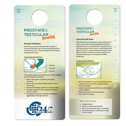 Picture of Shower Card: Prostate & Testicular Self-Exam