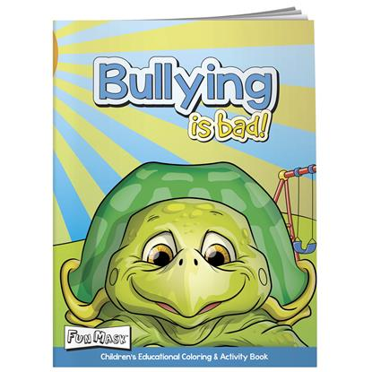 Picture of Coloring Book with Mask: Bullying is Bad