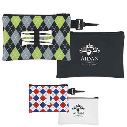Picture of Pattern Golf Tee Pouch