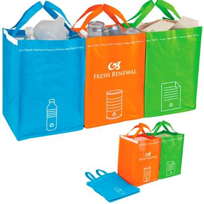 Picture of Recycling Bin Tote Set