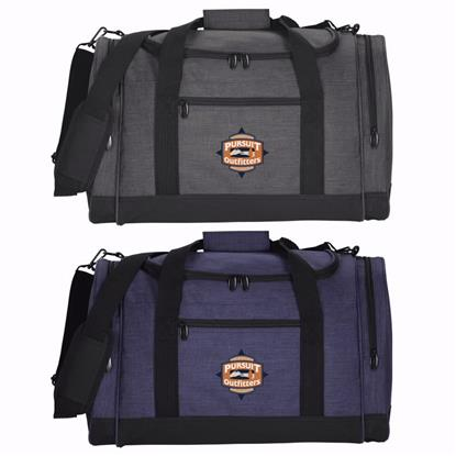 Picture of 4imprint Heathered Leisure Duffel