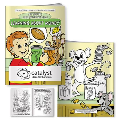 Picture of Coloring Book: Learning About Money