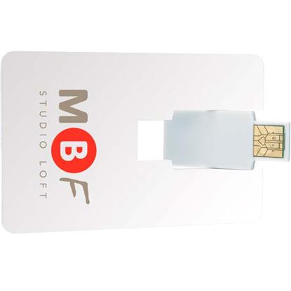 Picture of 8 GB Flip Card USB 2.0 Flash Drive