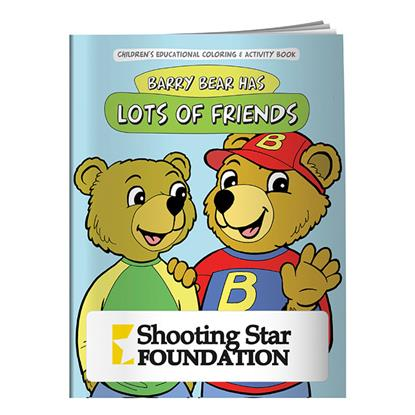 Picture of Coloring Book: Barry Bear Has Lots of Friends