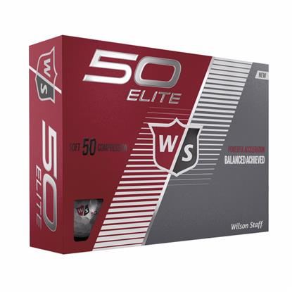 Picture of Wilson® 50 Elite Golf Ball Std Serv