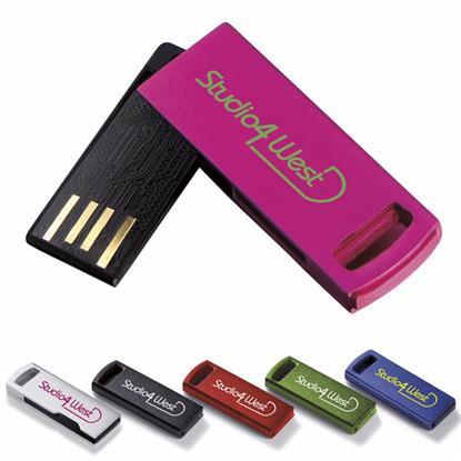 Picture of 2 GB Aluminum USB 2.0 Flash Drive