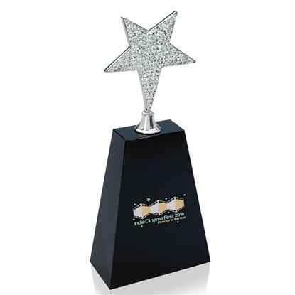 Picture of Rhinestone Star Award - Medium