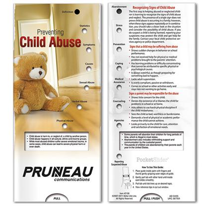 Picture of Pocket Slider: Preventing Child Abuse