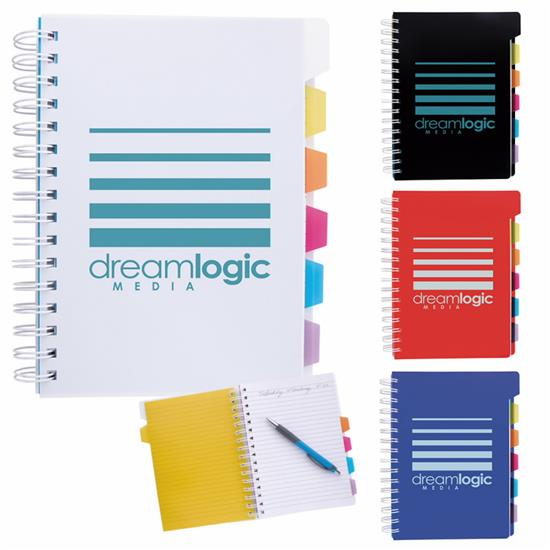 Picture of Spiral Notebook with Tabs