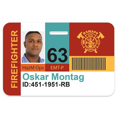 Picture of Horizontal Name Badge