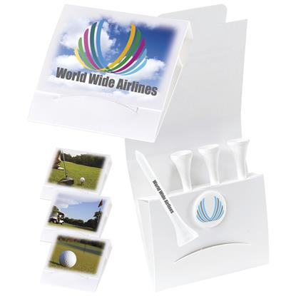 "Picture of 4-1 Golf Tee Packet - 2-1/8"" Tee"