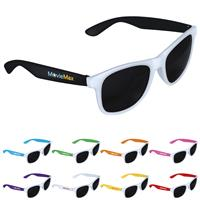 Picture of Two-Tone White Frame Sunglasses