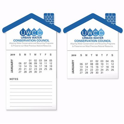 Picture of BIC® Stock Shape Magnet with 12 Sheet Calendar