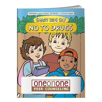 Picture of Coloring Book: Smart Kids Say No to Drugs