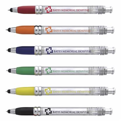 Picture of Translucent Banner Stylus Pen
