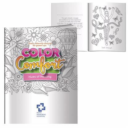 Picture of Adult Coloring Book - Hues of Healing (Breast Cancer Awareness)