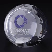 """Picture of Globe Paperweight 3-1/8"""" Dia"""