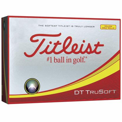 Picture of Titleist® DT TruSoft™ Yellow Std Serv