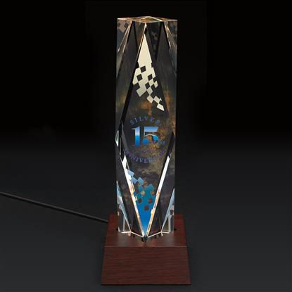 Picture of Dramatis Award with Lighted Base