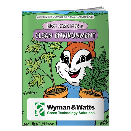 Picture of Coloring Book: Clean Environment