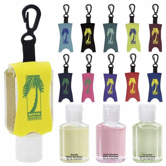 Picture of 1 oz. Hand Sanitizer with Leash - Scented