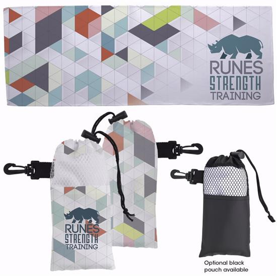 Picture of 4 Color Cooling Towel in Pouch