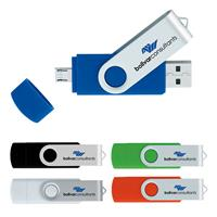 Picture of 8 GB On The Go USB 2.0 Flash Drive