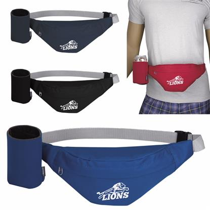 Picture of Party Fanny Pack with Koozie® Can Kooler