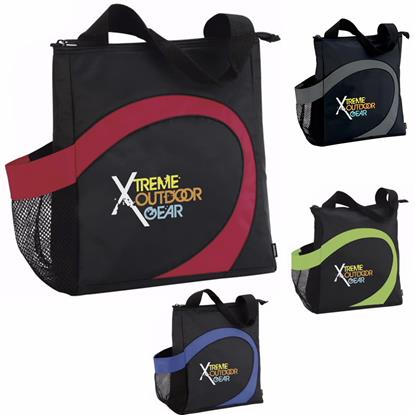Picture of Koozie® Swirl Lunch Tote