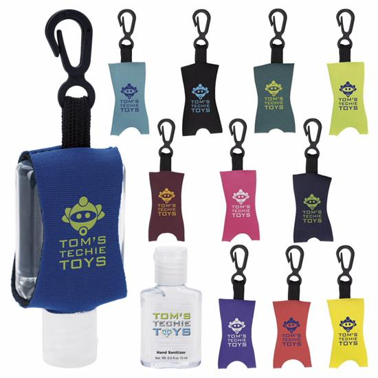 Picture of .5 oz. Custom Label Hand Sanitizer with Leash