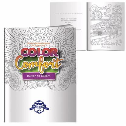 Picture of Adult Coloring Book - Driven To Dream