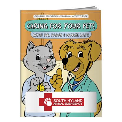 Picture of Coloring Book: Caring for Your Pets