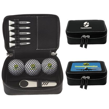 Picture of Zippered Golf Gift Kit - Titleist® TruFeel