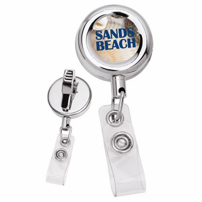 Picture of Metal Retractable Badge Holder