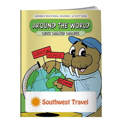 Picture of Coloring Book: Around the World