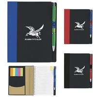 """Picture of 5"""" x 7"""" ECO Notebook with Flags"""