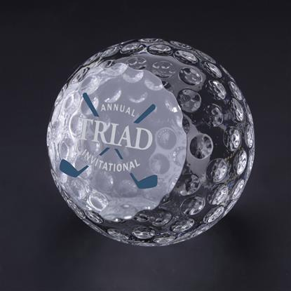 """Picture of Golf Ball Paperweight 2-3/8"""" Dia"""
