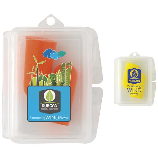 Picture of Travel Ear Plugs in Case