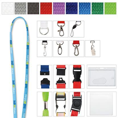 "Picture of 5/8"" Polyester Tube Lanyard"