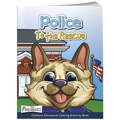 Picture of Coloring Book with Mask: Police to the Rescue