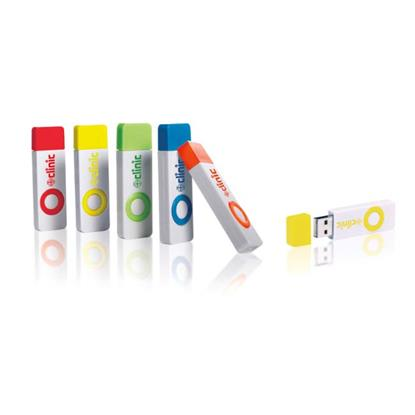 Picture of 8 GB Color Pop USB 2.0 Flash Drive