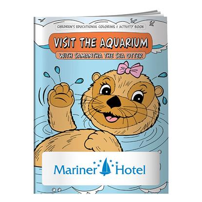 Picture of Coloring Book: Visit the Aquarium