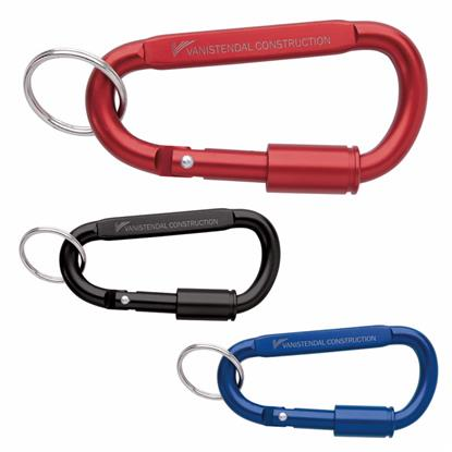 Picture of Keyring Carabiner with Lock